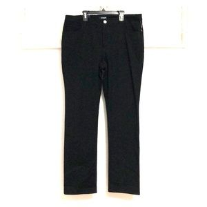 CHAPS Women's Straight Slimming Fit Pants